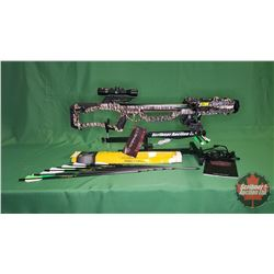 Crossbow : Barnett Whitetail Pro STR 400fps & 187lb Draw Weight w/Scope Cross 4x32