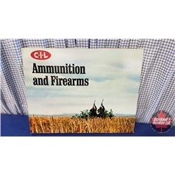 "CIL Ammunition and Firearms Cardboard Store Display Sign (24"" x 20"")"