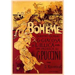 Adolfo Hohenstein - Boheme-Puccini