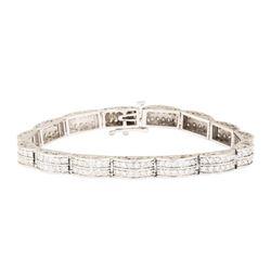 4.00 ctw Diamond Tennis Bracelet - 14KT White Gold