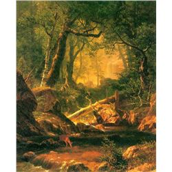 White Mountains, New Hampshire 2 by Albert Bierstadt