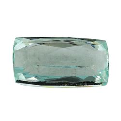 14.23 ct.Natural Cushion Cut Aquamarine