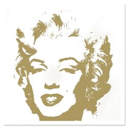 Golden Marilyn 11.41 by Warhol, Andy