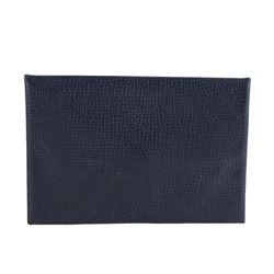 Hermes Blue Calvi Bleu De Malte Epsom Leather Card Holder Wallet