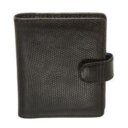 Louis Vuitton Black Lizard Mini Agenda Notes de Voyage Travel Notes