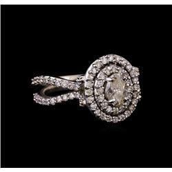 14KT White Gold 1.20 ctw Diamond Ring
