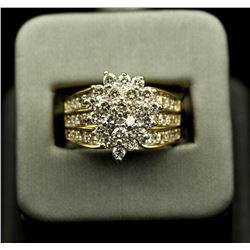 2.05 ctw Diamond Ring - 14KT Yellow Gold