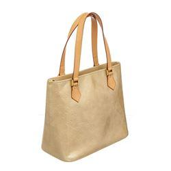 Louis Vuitton Beige Vernis Monogram Houston Tote Bag