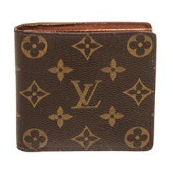 Louis Vuitton Monogram Canvas Leather Marco Bifold Wallet
