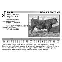FISCHER STATS 969
