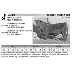 FISCHER TONKA 983