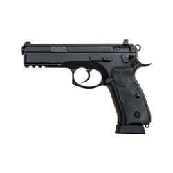 "CZ 75 SP-01 TAC 9MM 4.6"" BLK 18RD NS"