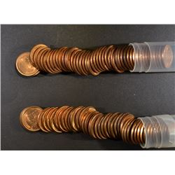 BU LINCOLN CENT LOT: