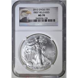 2012 ASE NGC MS-70 FIRST RELEASE