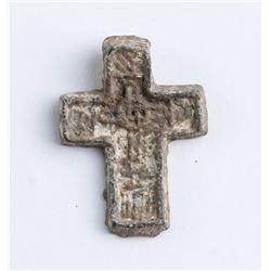 14-15th Century Russian Orthodox Bronze Cross