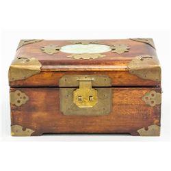 Asian Wood Jewellery Box
