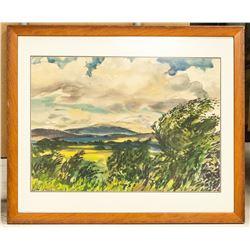 William Goodridge Roberts Canadian Watercolor