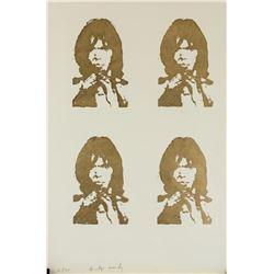Andy Warhol American Pop Art Woodblock 6/200