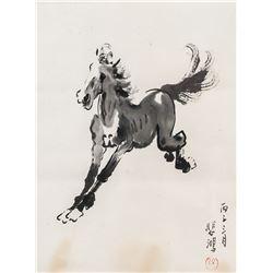 Xu Beihong 1895-1953 Chinese Ink Horse