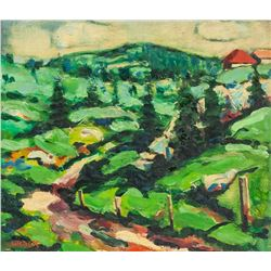 Signed  Montreal Canadian Oil Painting ?HALK