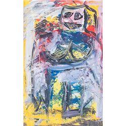 Williem de Kooning Dutch American Oil on Canvas
