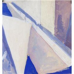 Mario Sironi Italian Modernist Mixed Media Paper