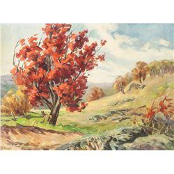 Franz Hans Johnston Canadian Acrylic Provenance