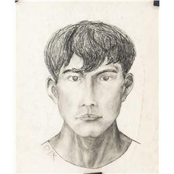 Otto Dix German Modernist Charcoal Portrait