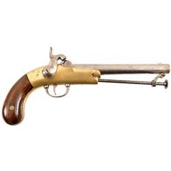 J.F. Garrett Confederate Pistol Greensboro NC
