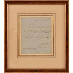 A.J. Toutant Letter to Confederate General Cooper