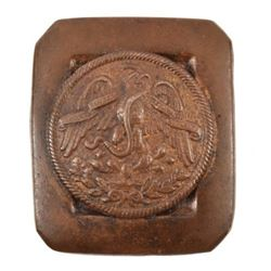 The Battle of The Alamo Mexican Army Belt Buckle