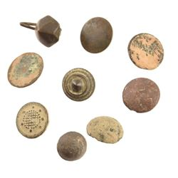 Alamo Relic 9 Assorted Clothing Buttons