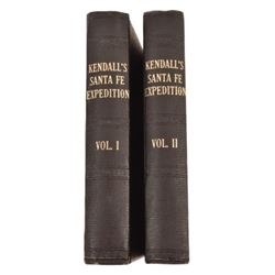 """Kendall's Santa Fe Expedition"" Volumes I & II"