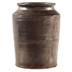 JL Blaney, Cookstown PA Metallic Glaze Jar