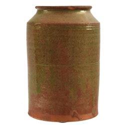 JL Blaney, Cookstown PA Green Jar