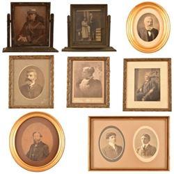 Various Beauregard Framed Family Photos