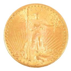 1927 Walking Liberty $20 Gold Coin