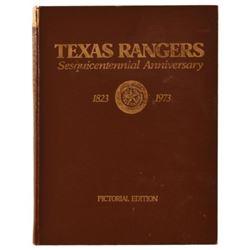 Texas Rangers Sesquicentennial Book 1823-1973