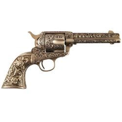 Cole Agee Cattle Brand Engraved Colt SAA