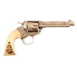 Engraved Colt Bisley Model 1873 SA .44-40