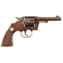 Wells Fargo Marked Colt DA Pistol .38