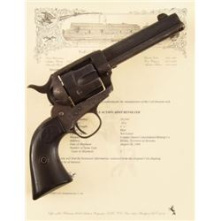 Copper Queen Mining Co. Colt Model 1873 SAA .45