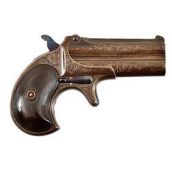 Engraved Remington O/U Derringer