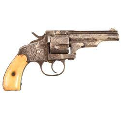 Merwin & Hubert Factory Engraved .38 Revolver
