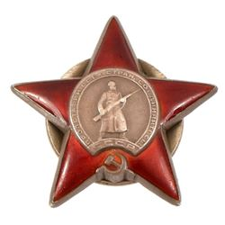 Soviet Order of the Red Star Medal