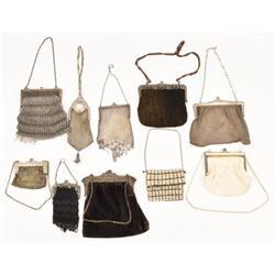Collection of 10 Vintage Purses