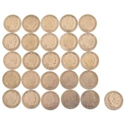 Collection of 1907 Half Dollars 26 Coins