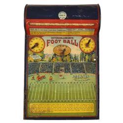 Frantz Intercollegiate Football Litho Tin Toy Game
