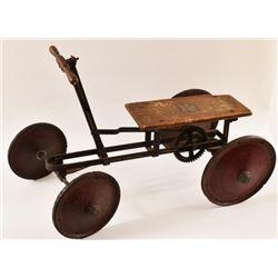 Child's Gendron Pioneer Handcar