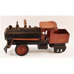 Keystone Railroad Pressed Steel Pedal Car